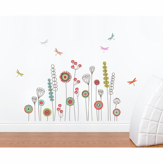 Garden Transfer Decal and Peel And Stick Decal