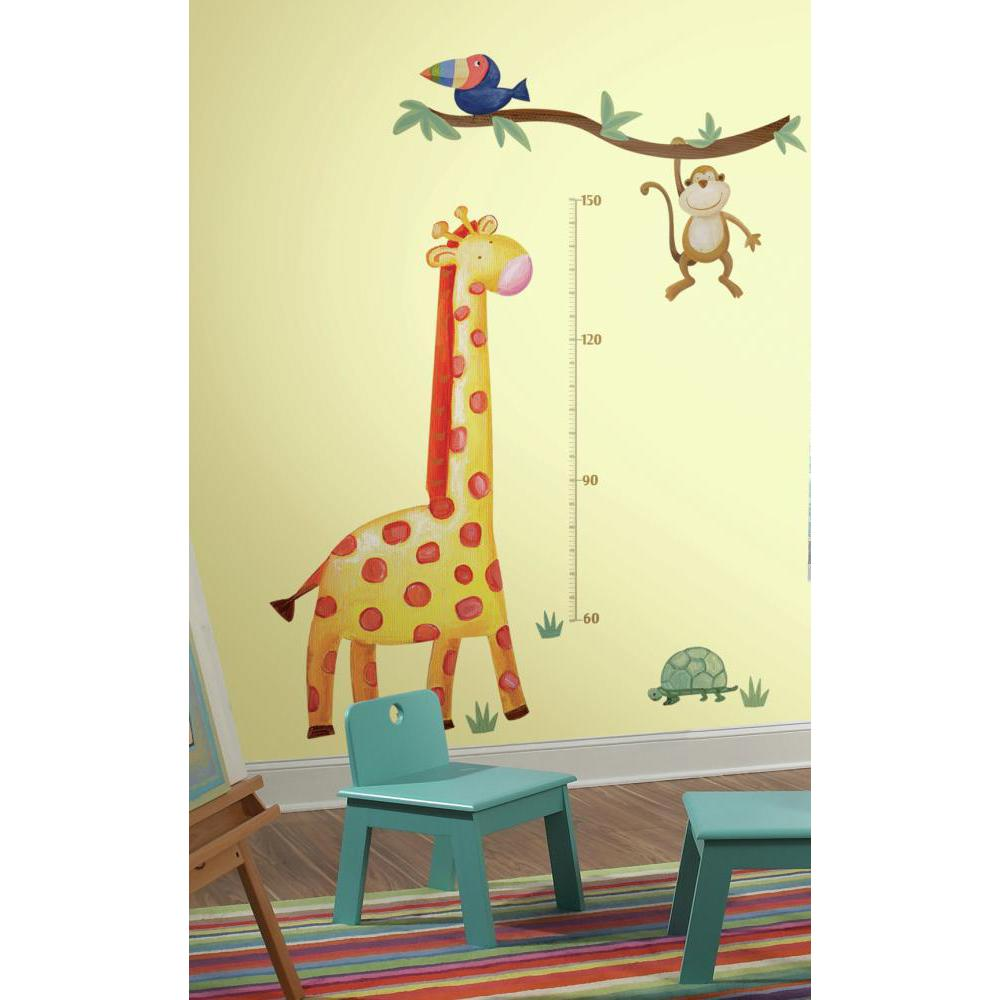 Giraffe METRIC Growth Chart Decal