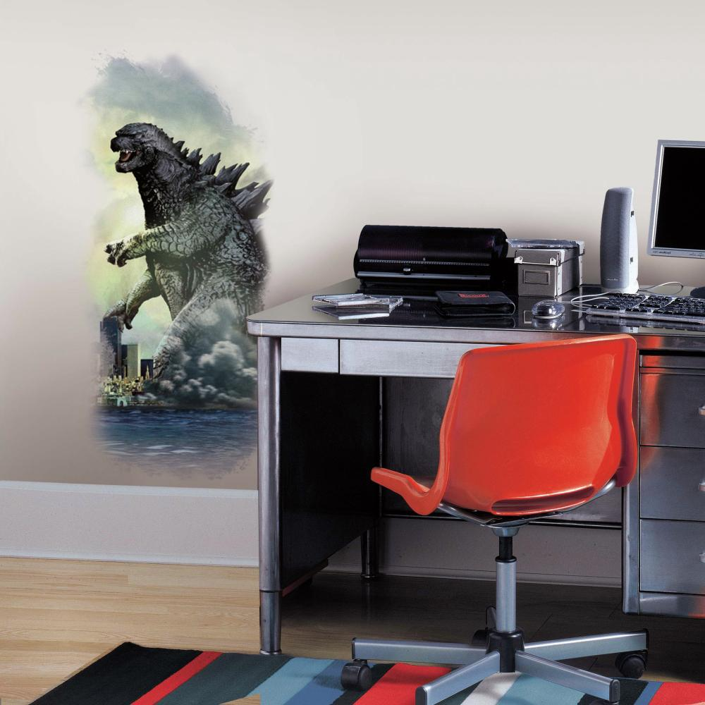 Godzilla City Wall Graphix Decal