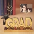 Gold Graduation Photo Holder Centerpiece