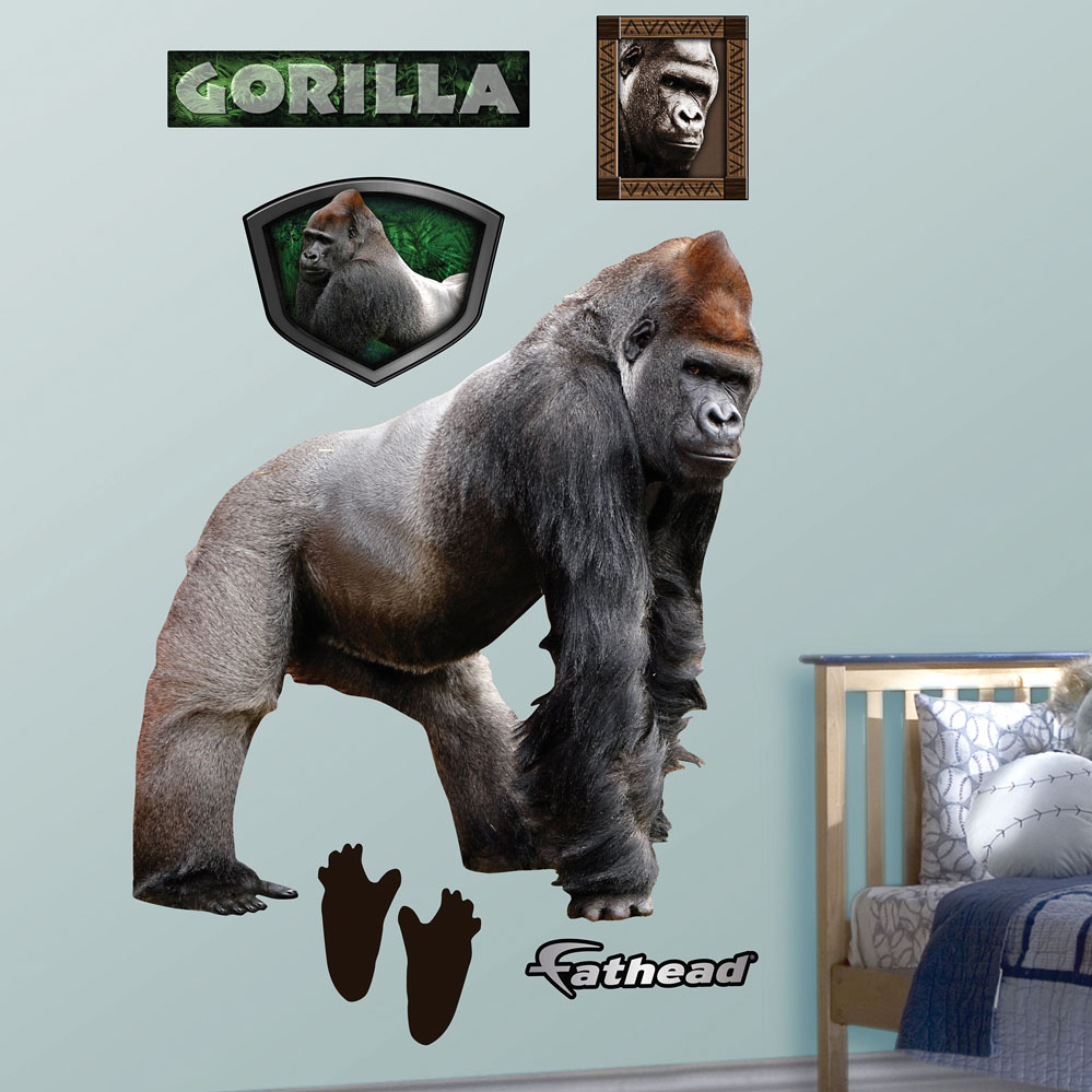 Gorilla REALBIG Wall Decal