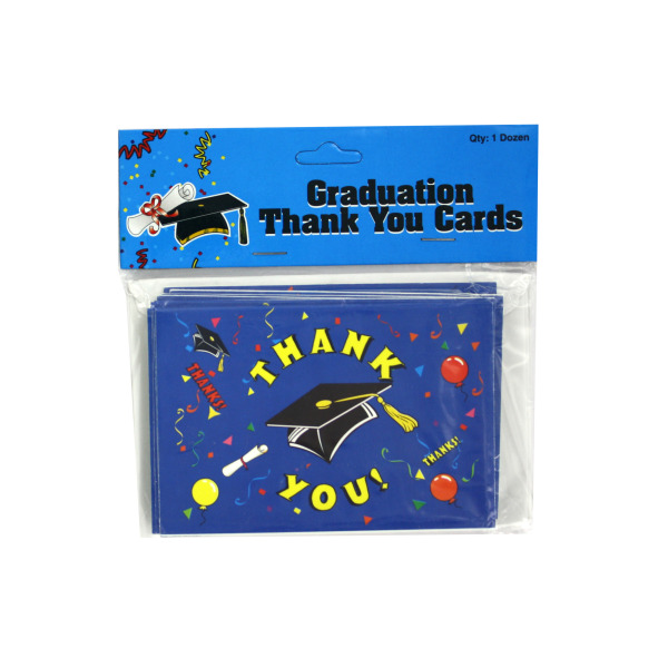 Graduation Thank You Notes With Envelopes