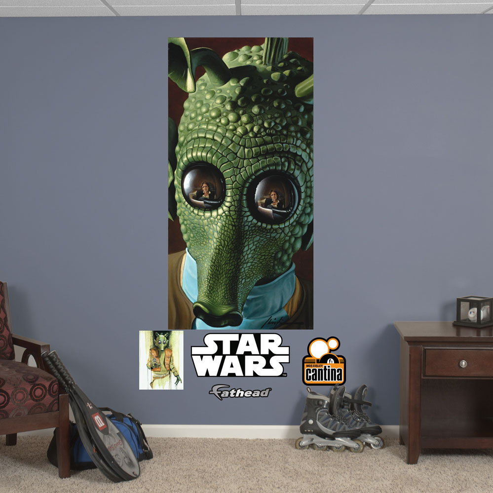 Greedo Mural REALBIG Wall Decal