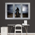 Grim Reaper: Instant Window REALBIG Wall Decal