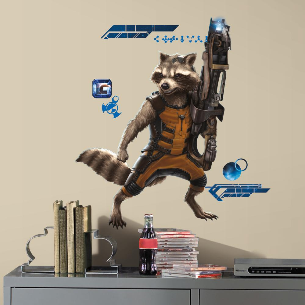 Guardians of the Galaxy Raccoon Giant Decal