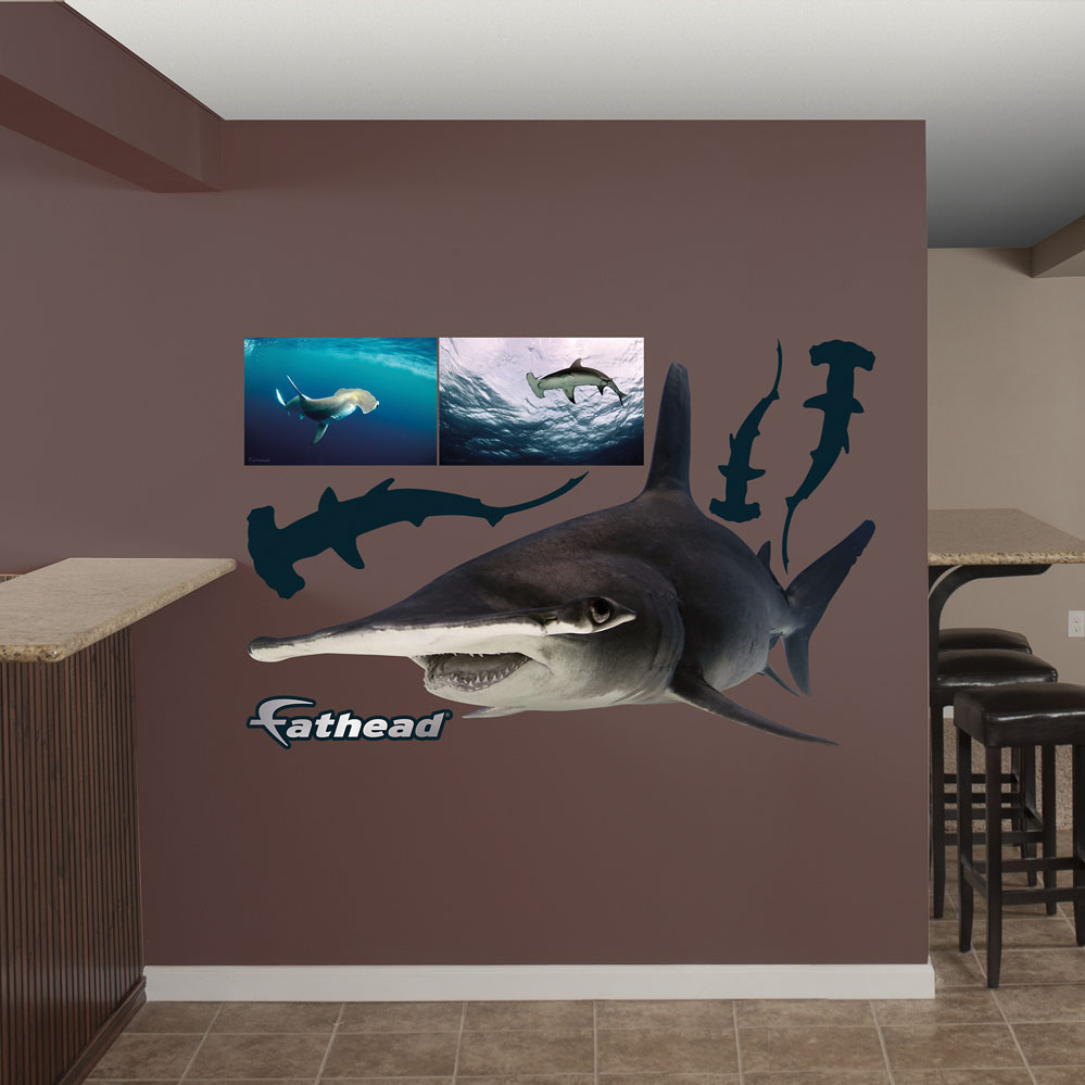 Hammerhead Shark REALBIG Wall Decal