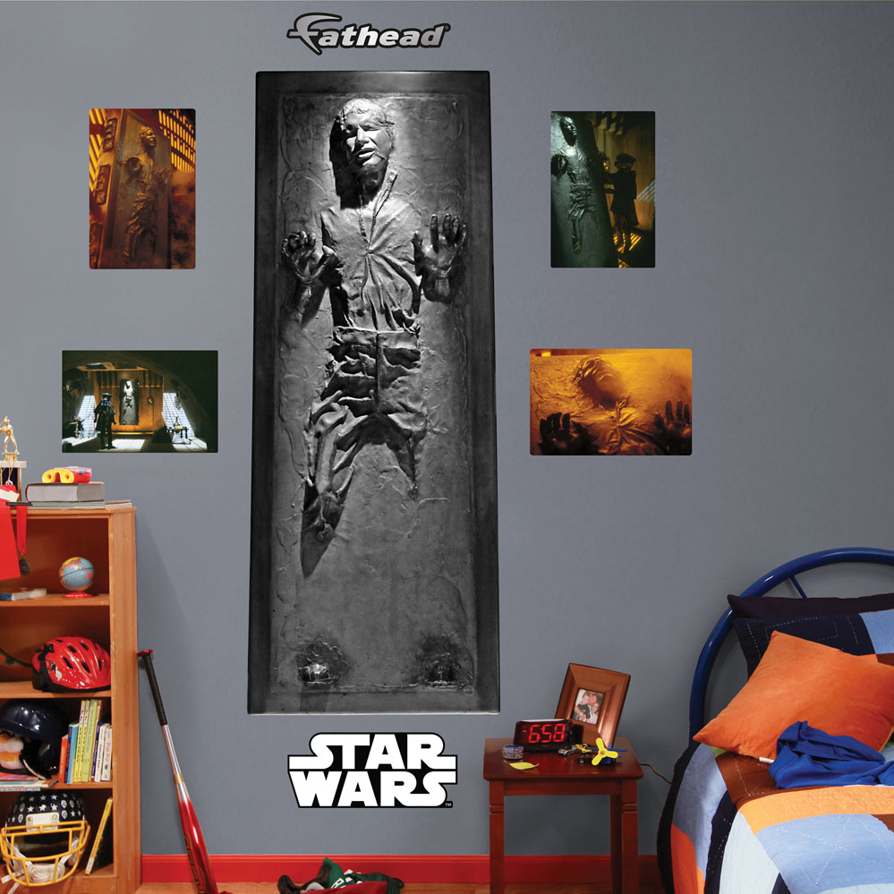 Han Solo In Carbonite REALBIG Wall Decal