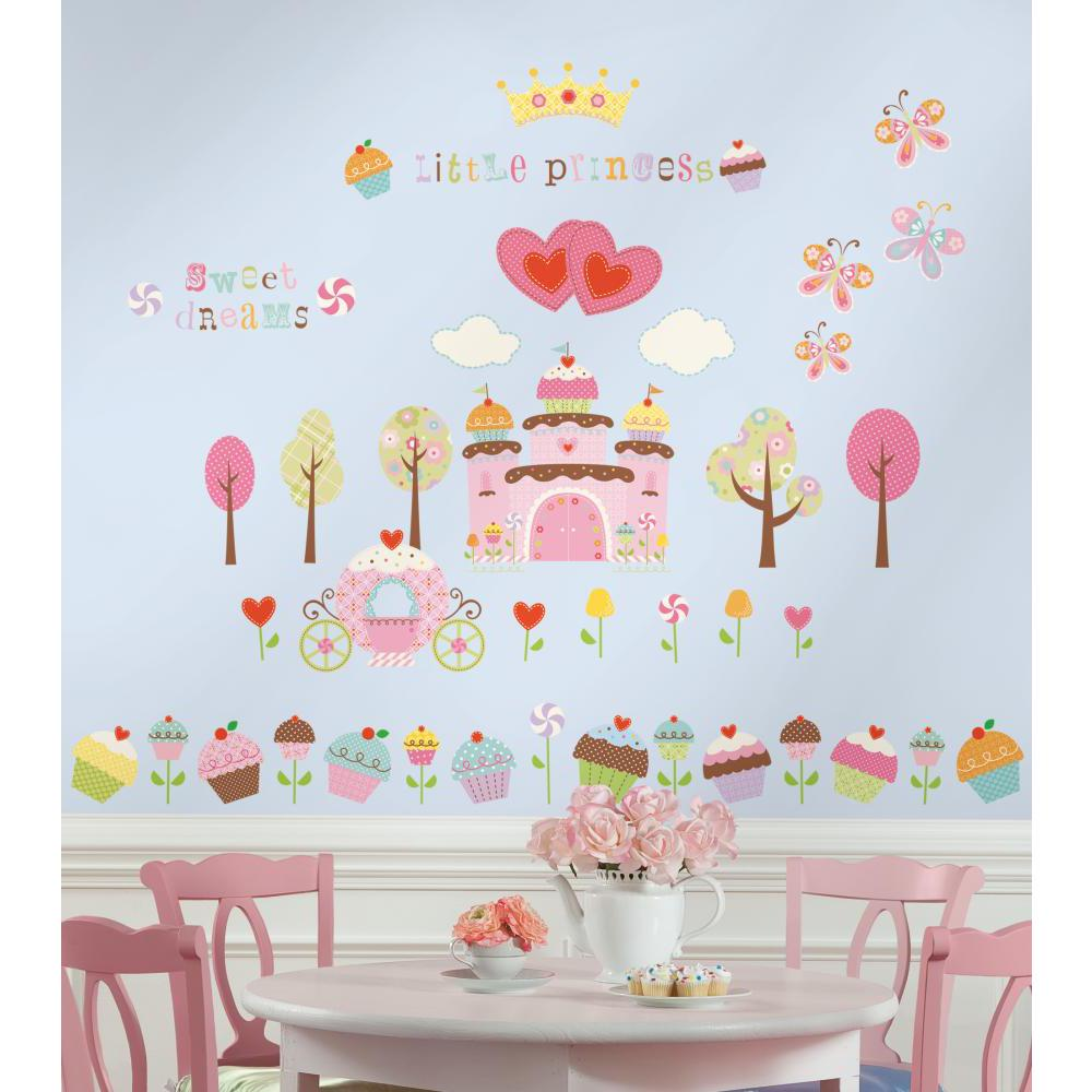 Happi Cupcake Land Peel And Stick Decal