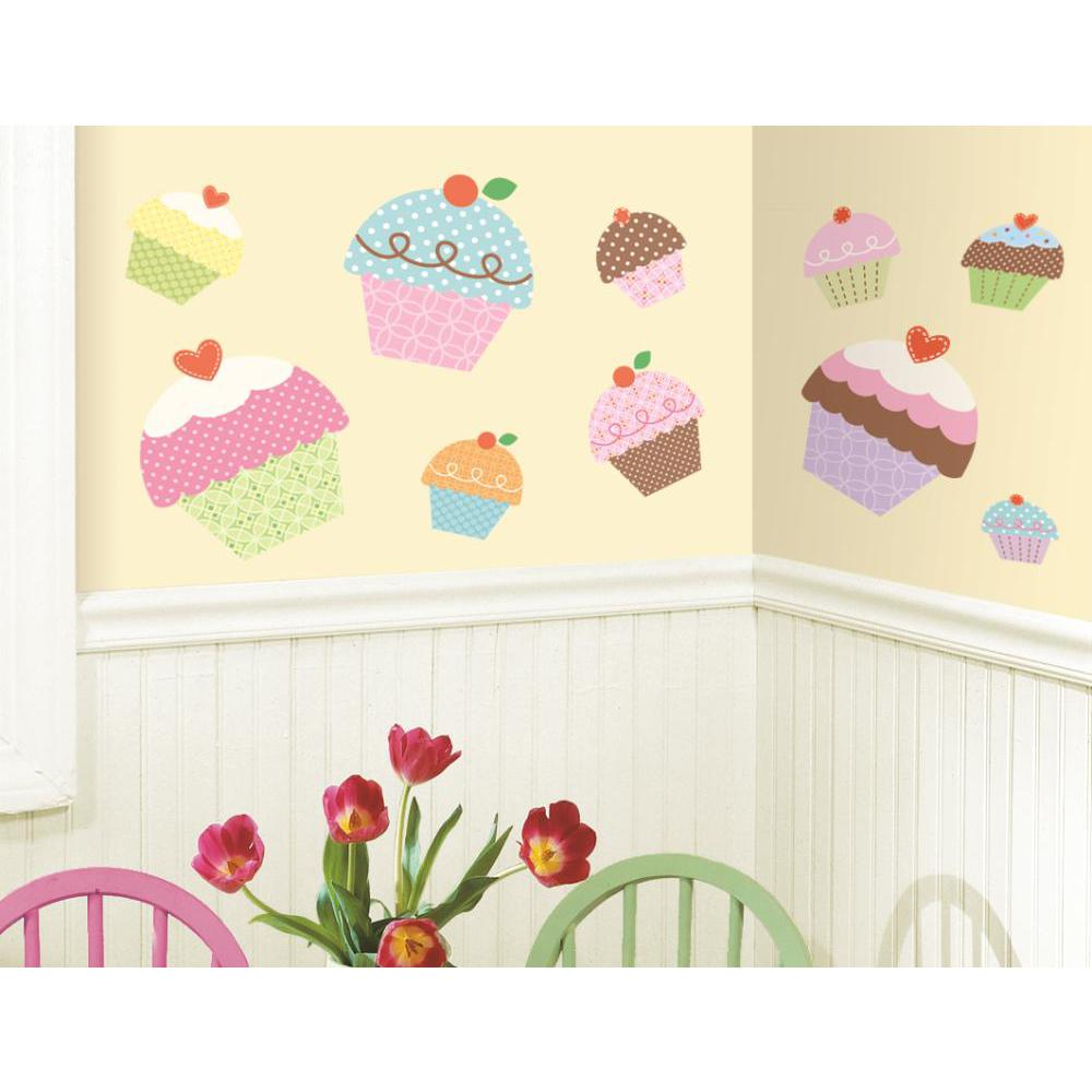 Happi Cupcake Peel And Stick Giant Decal