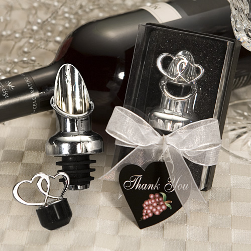 Heart Design Wine Pourer Stopper