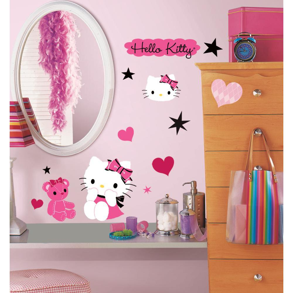 Hello Kitty-Couture Peel And Stick Decal