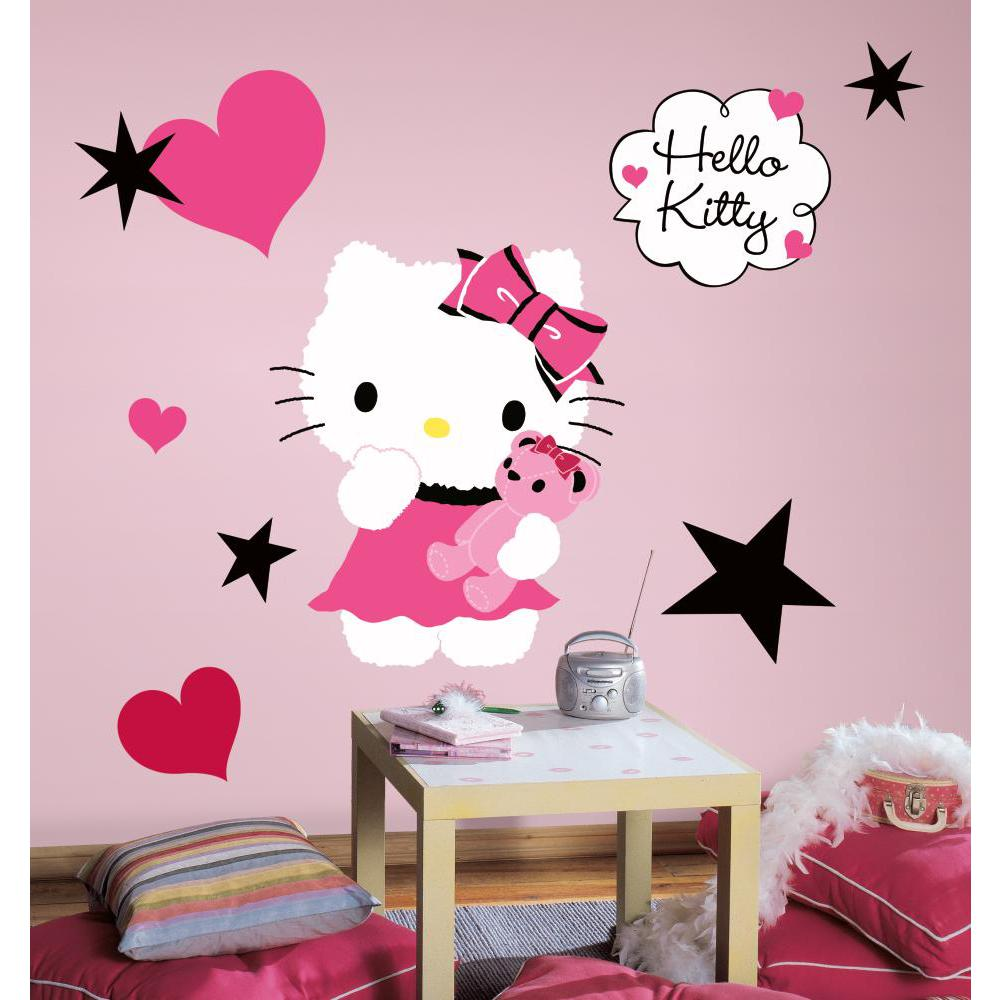 Hello Kitty-Couture Peel And Stick Wall Decal