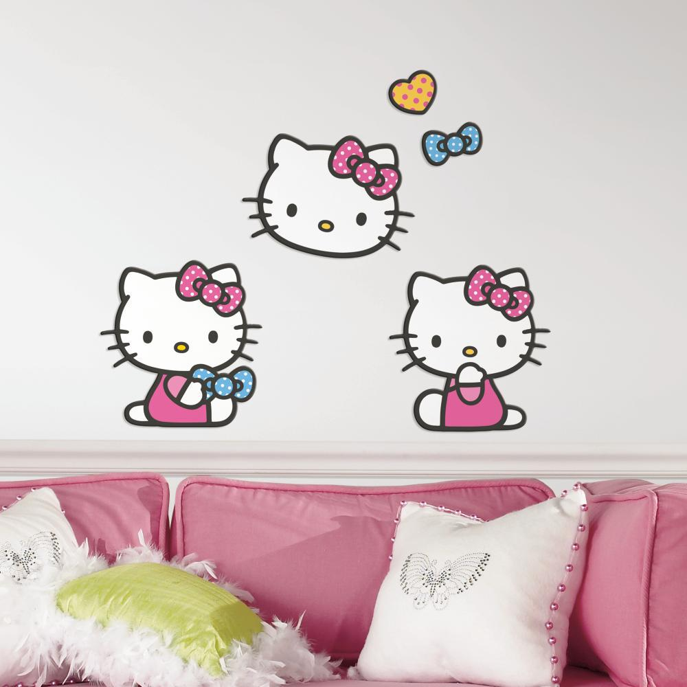 Hello Kitty Foam Characters