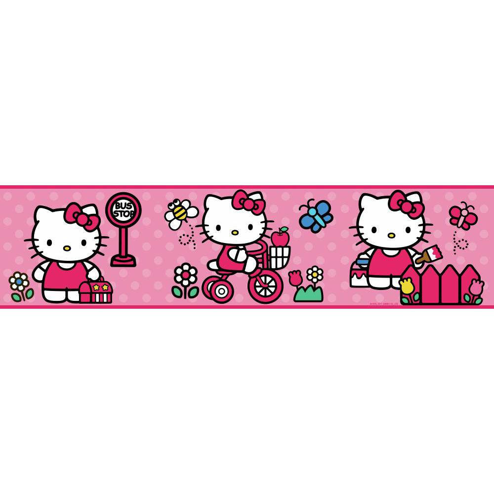 Hello Kitty-The World of Hello Kitty Border
