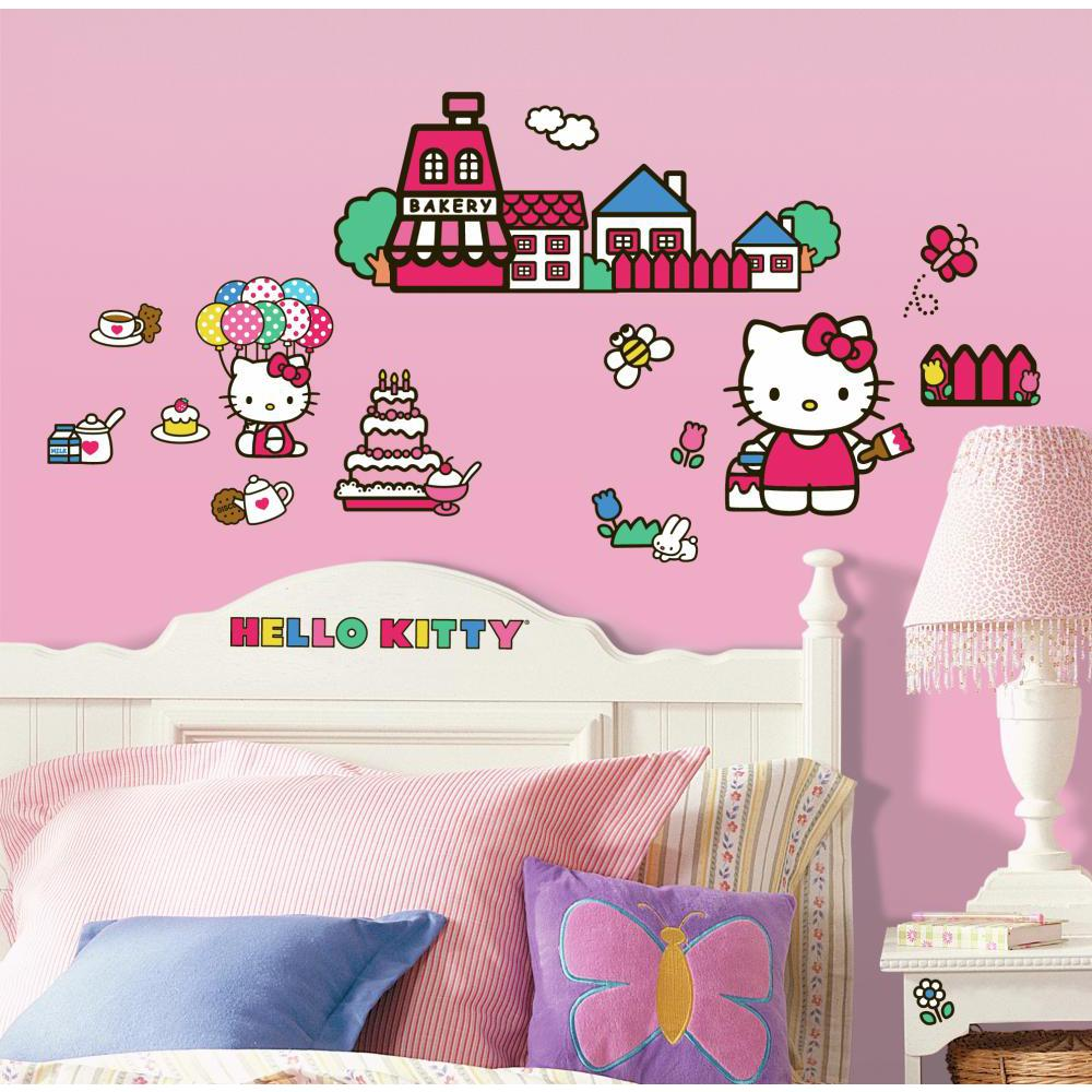 Hello Kitty-The World of Hello Kitty Decal
