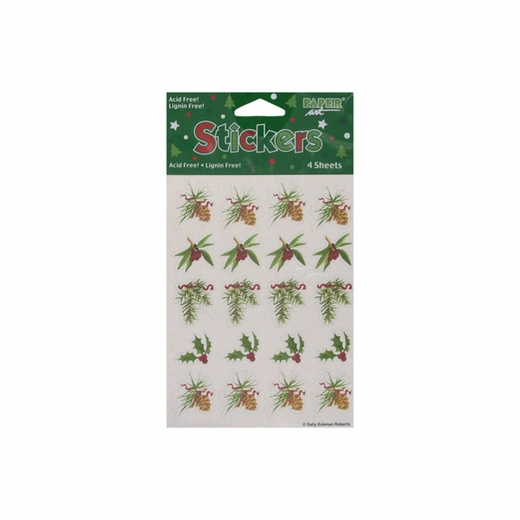 Holly And Pine Sticker Sheets