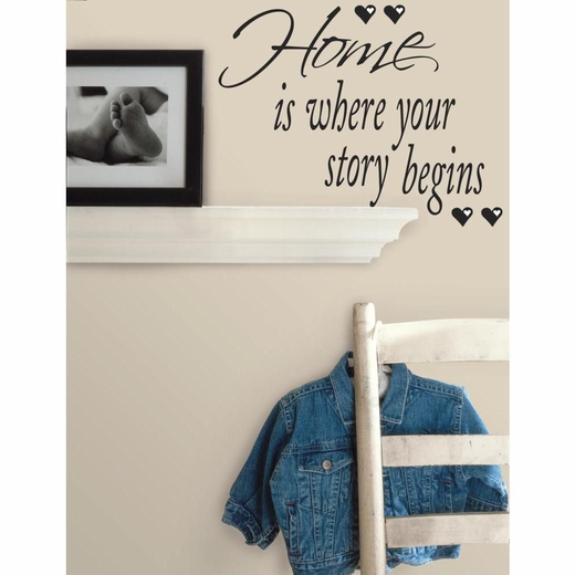 Home is Where Your Story Begins Quotable