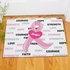 Hope And Love Breast Cancer Doormat