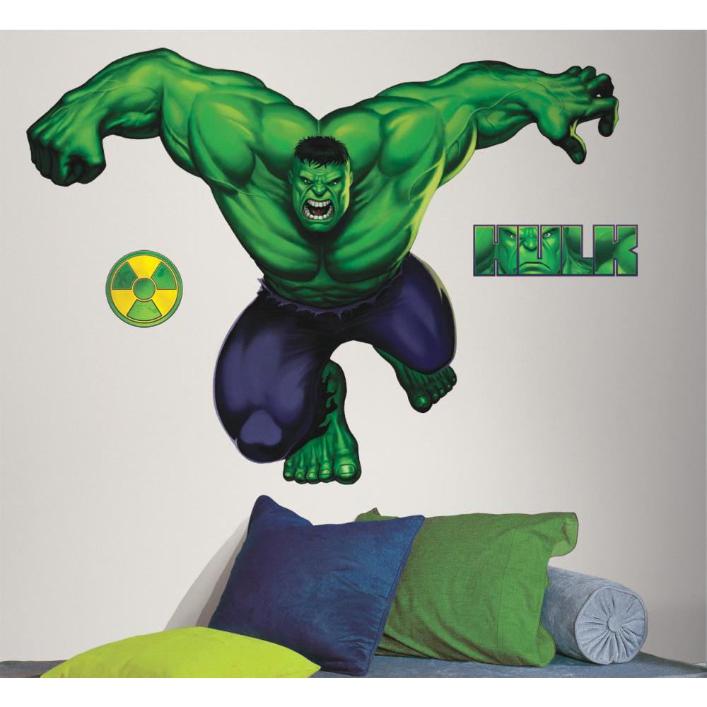 Hulk Peel And Stick Giant Decal