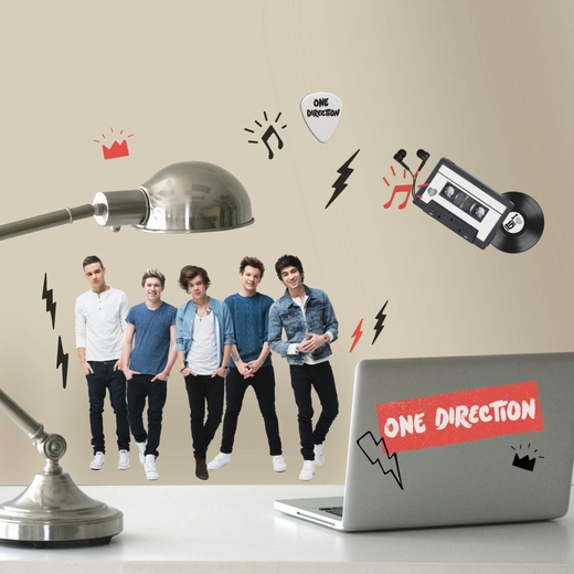 I Love 1D One Direction Decal