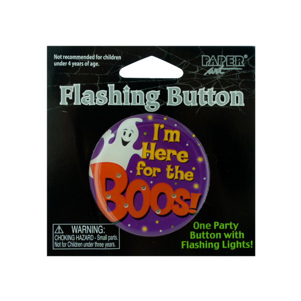 Im Here For The Boos! Flashing Button
