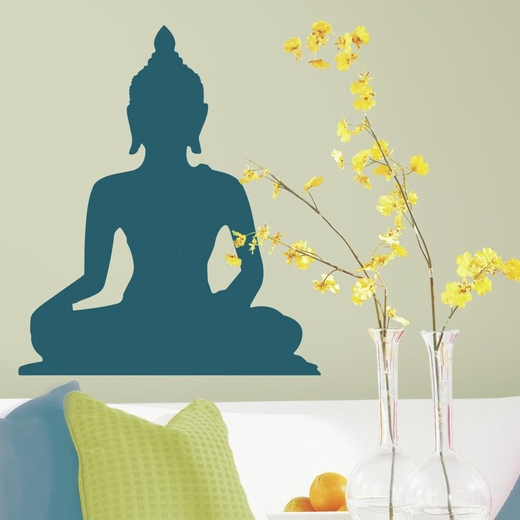 Indian Buddah Peel And Stick Giant Decal