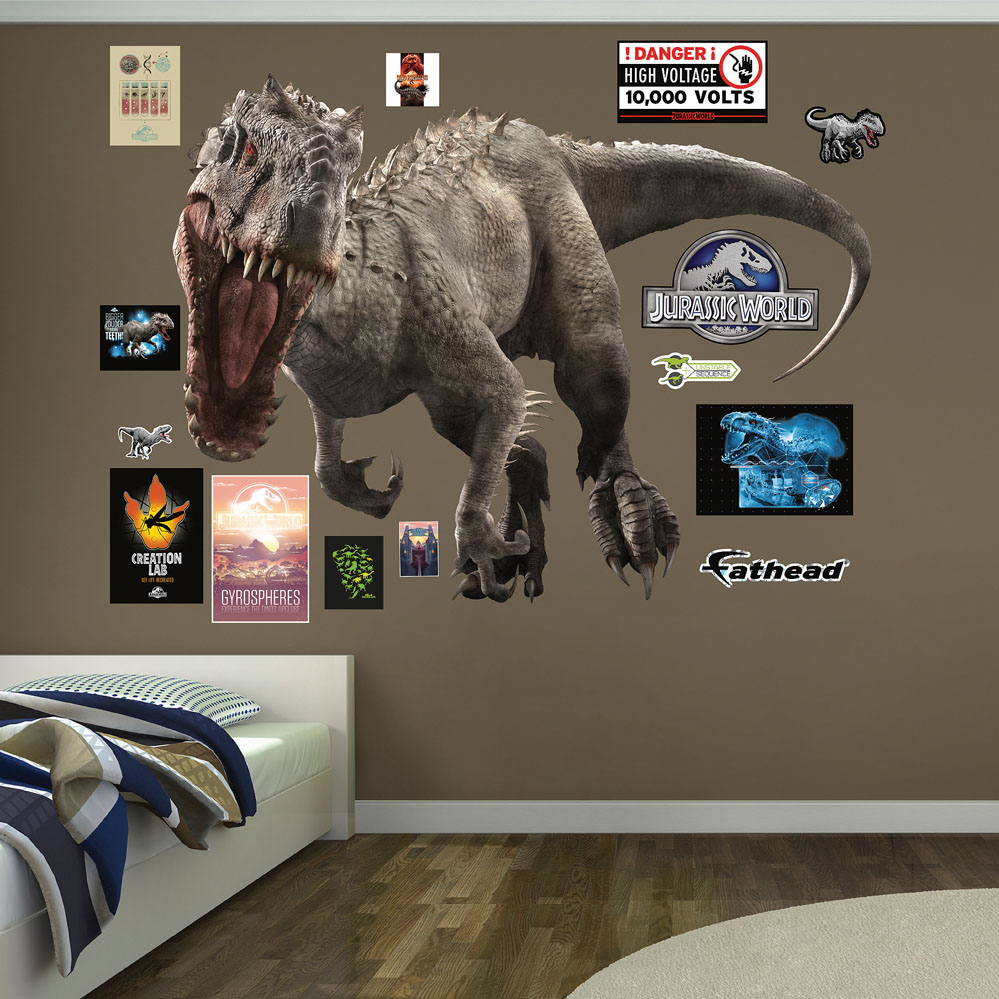 Indominus Rex Jurassic World Fathead Wall Decals