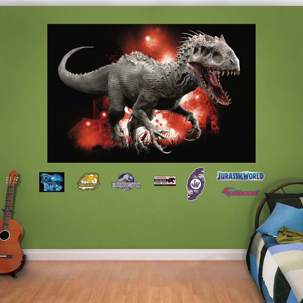 Indominus Rex Mural Fathead Wall Decals