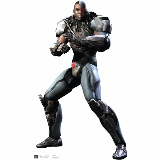 Injustice Gods Among Us Cyborg