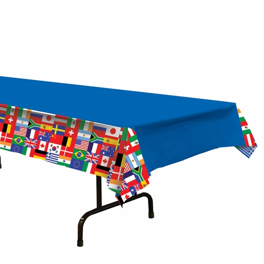 International Plastic Table Cover - Rectangle