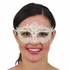 Ivory White Lace Mask