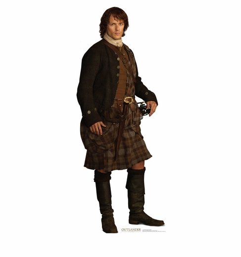 Jamie Fraser Scottish Outlander Cardboard Cutout