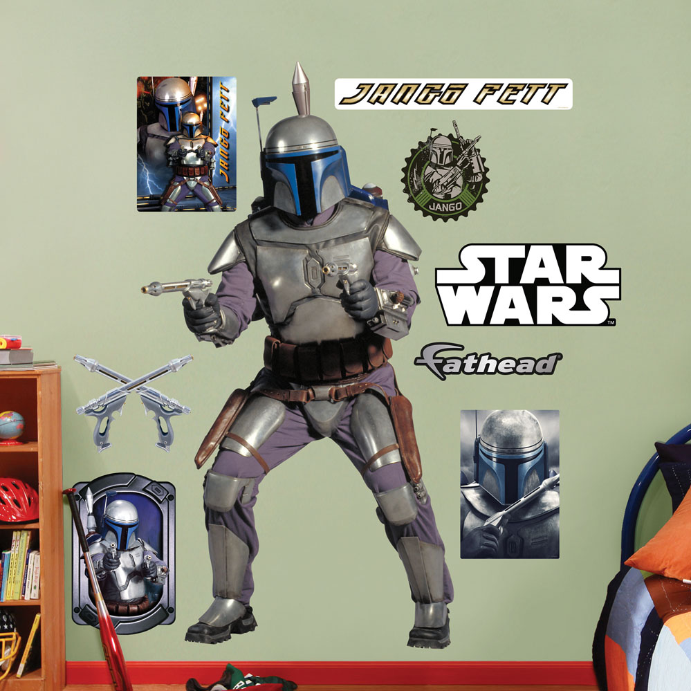 Jango Fett REALBIG Wall Decal