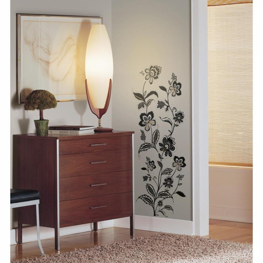 Jazzy Jacobean Peel And Stick Decal