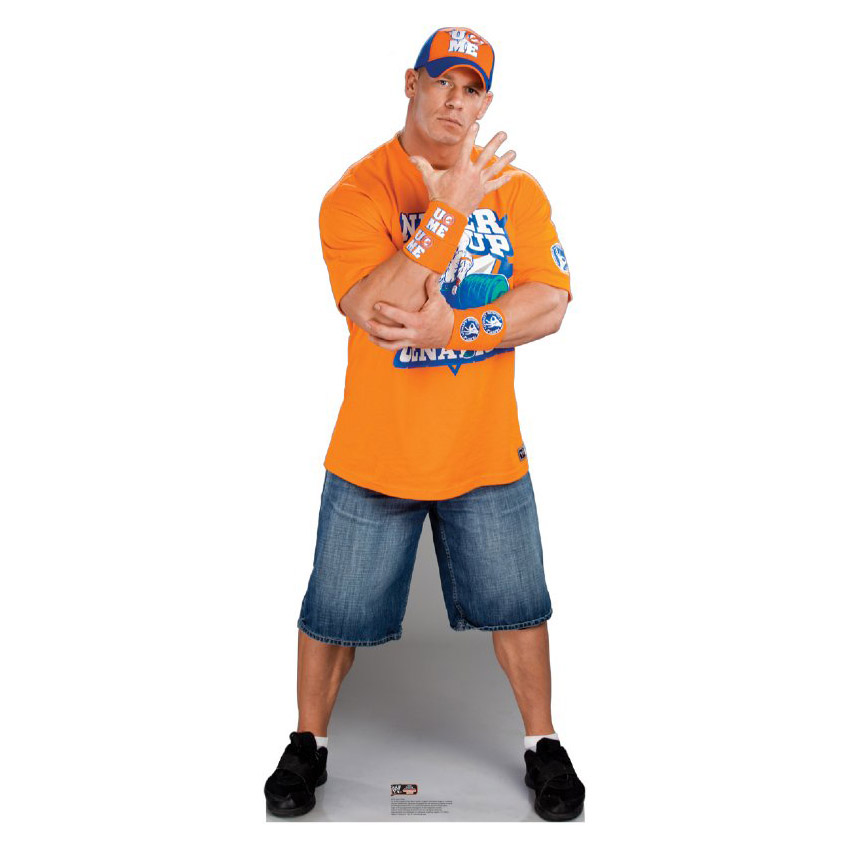 John Cena Orange Shirt-WWE Standup