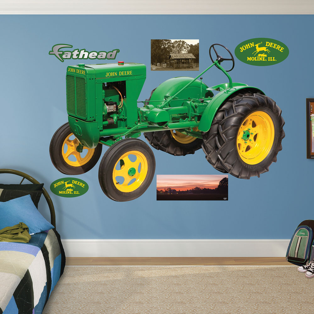 Wall decals john deere color the walls of your house for Autocollant mural