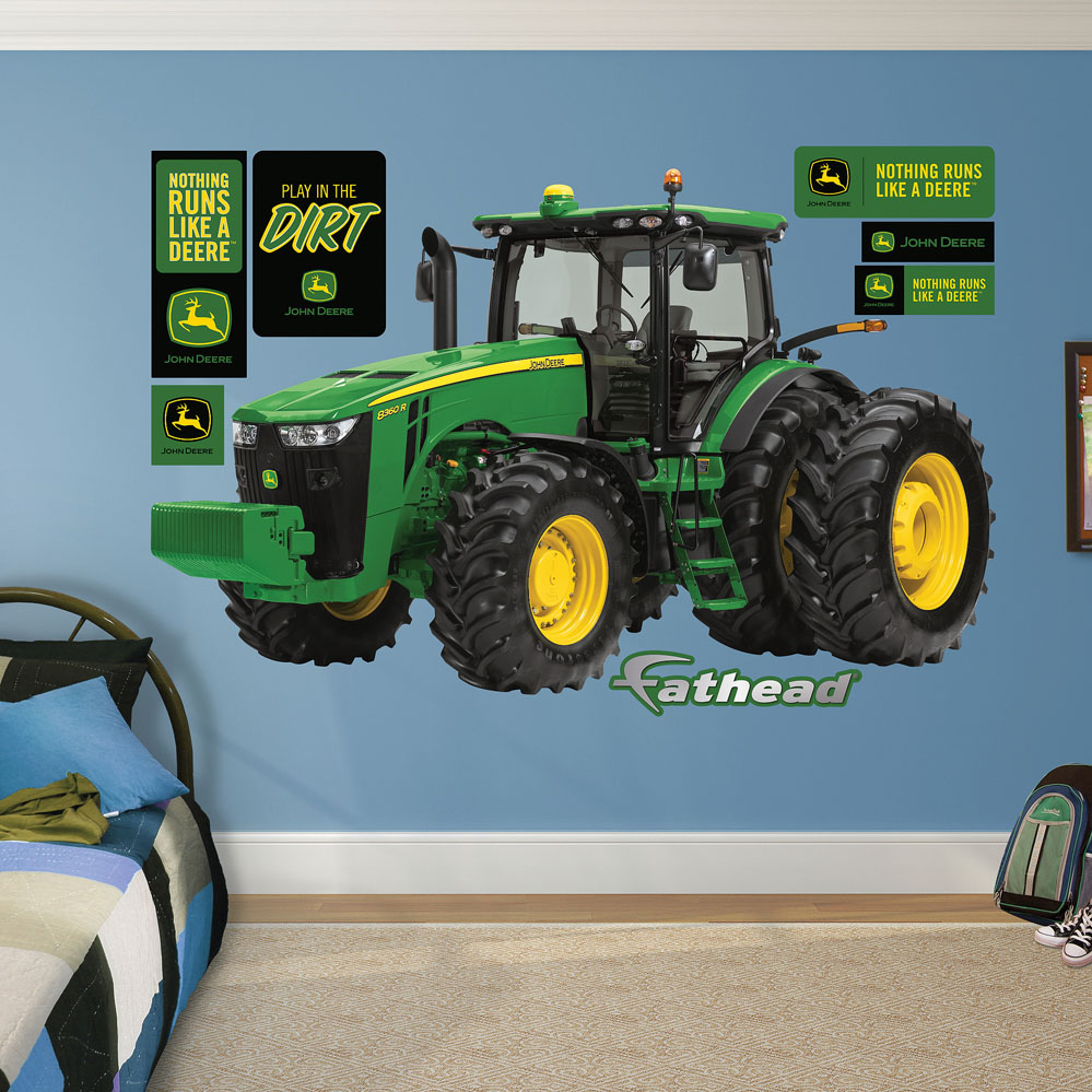 John Deere 8360R Tractor REALBIG Wall Decal