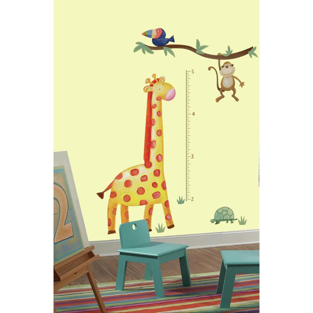 Jungle Adventure Giraffe INCHES Growth Chart
