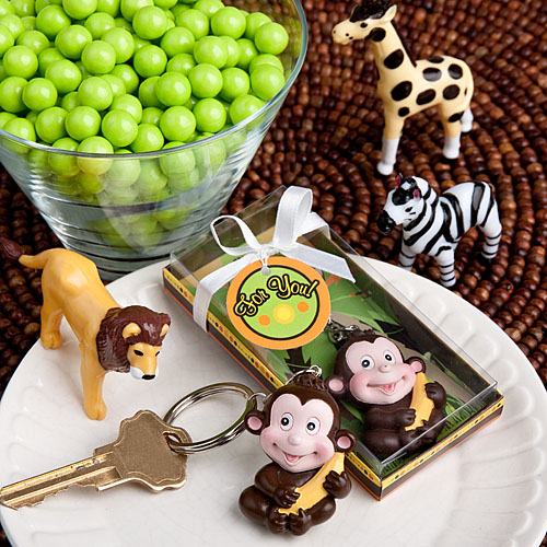 Jungle Critters Collection Keychain Favors