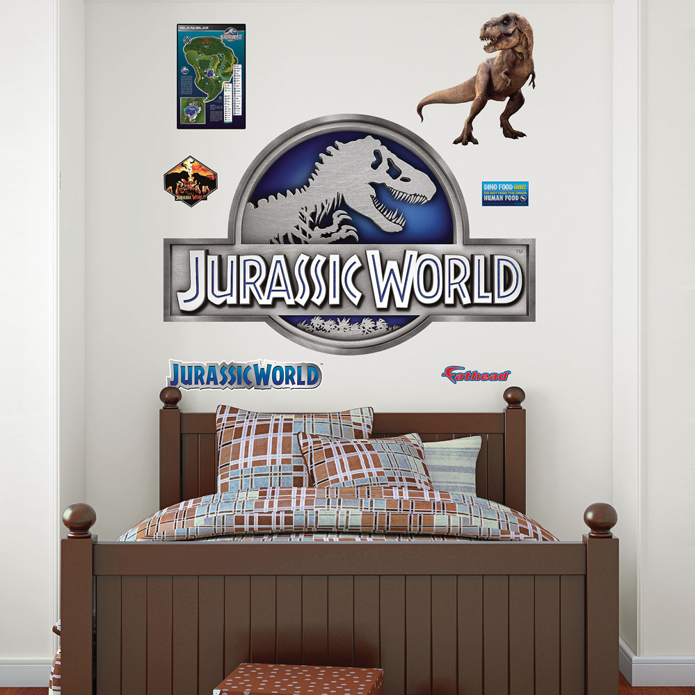 Jurassic World Logo Fathead Wall Decals