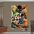 Justice League Attack Mural REALBIG Wall Decal