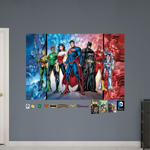 Justice League Mural REALBIG Wall Decal