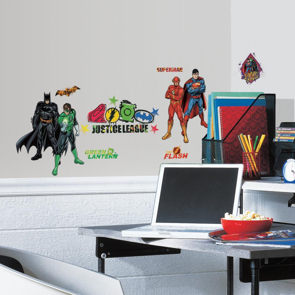 Justice League Peel And Stick Decal