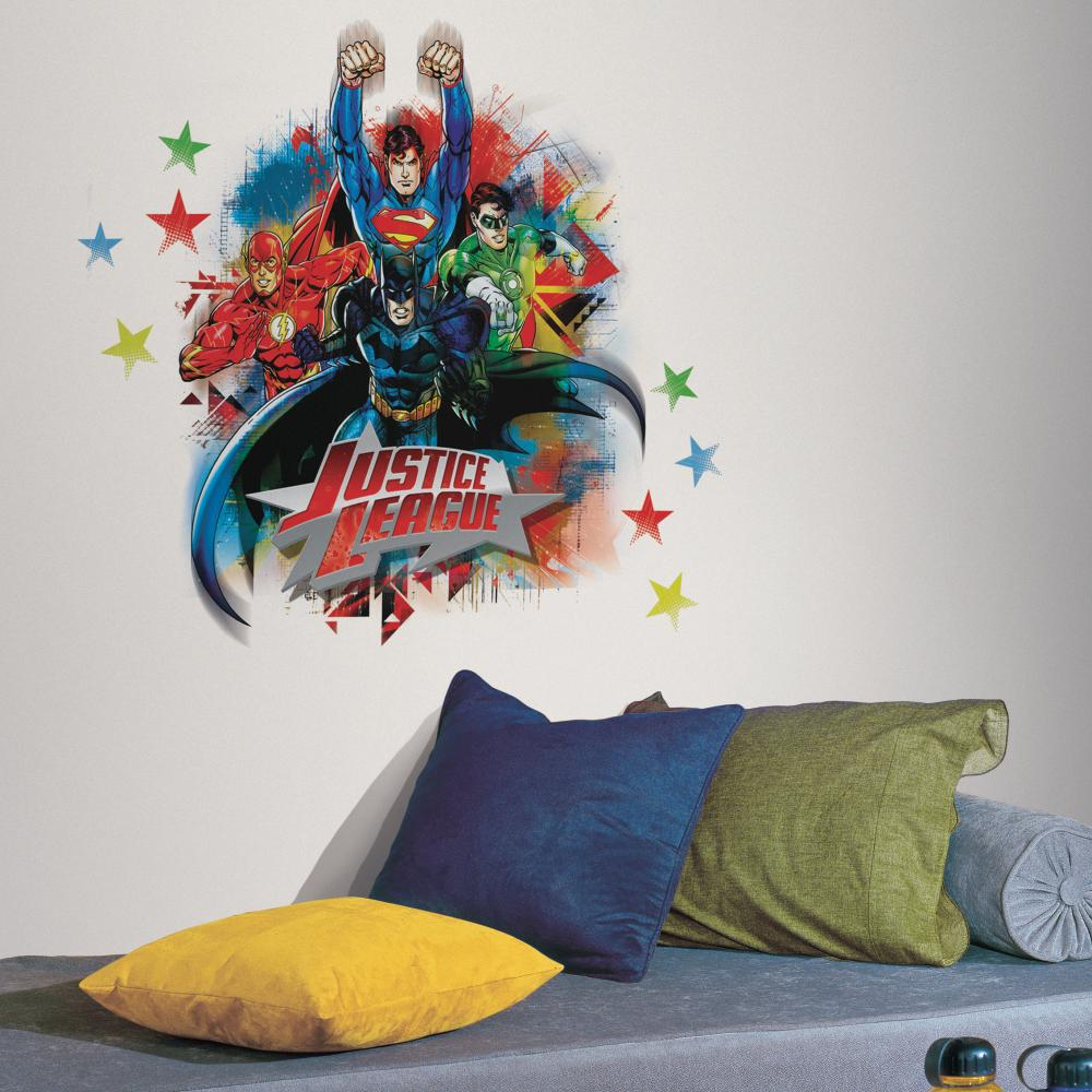 Justice League Peel And Stick Giant Decal