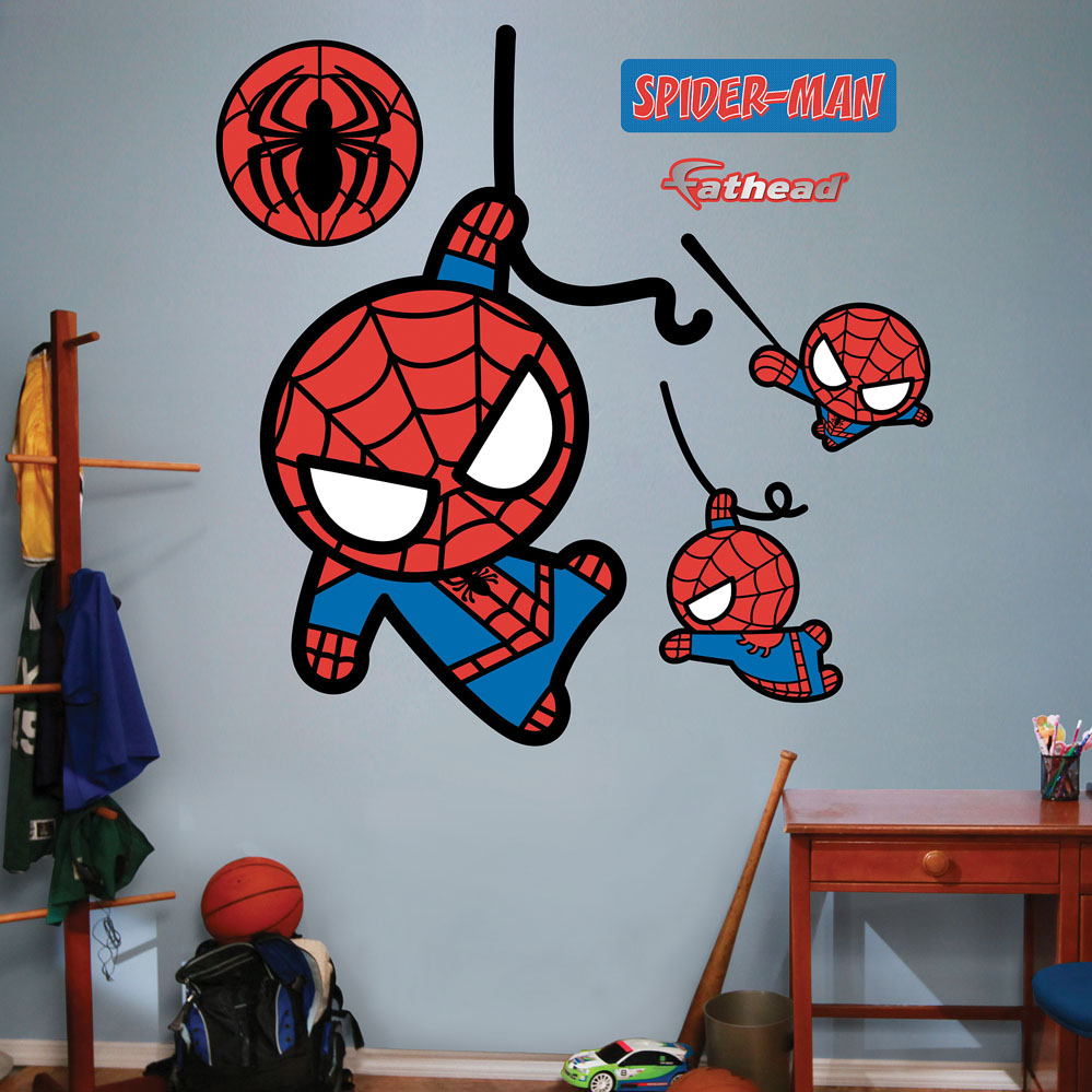 Kawaii Spider-Man REALBIG Wall Decal