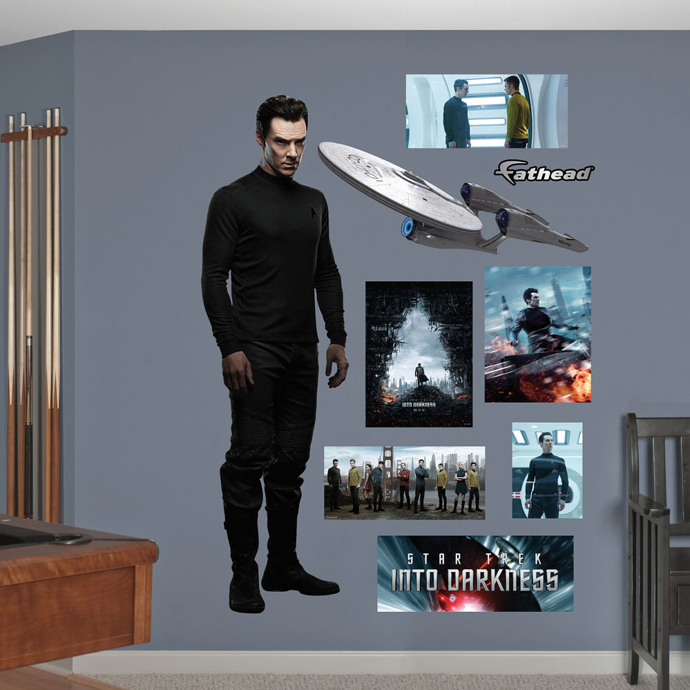 Khan: Star Trek Into Darkness REALBIG Wall Decal