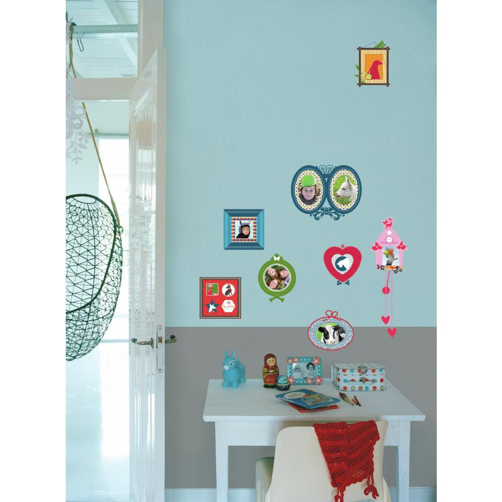 Kids Lab-Colorful Photo Frames Decal