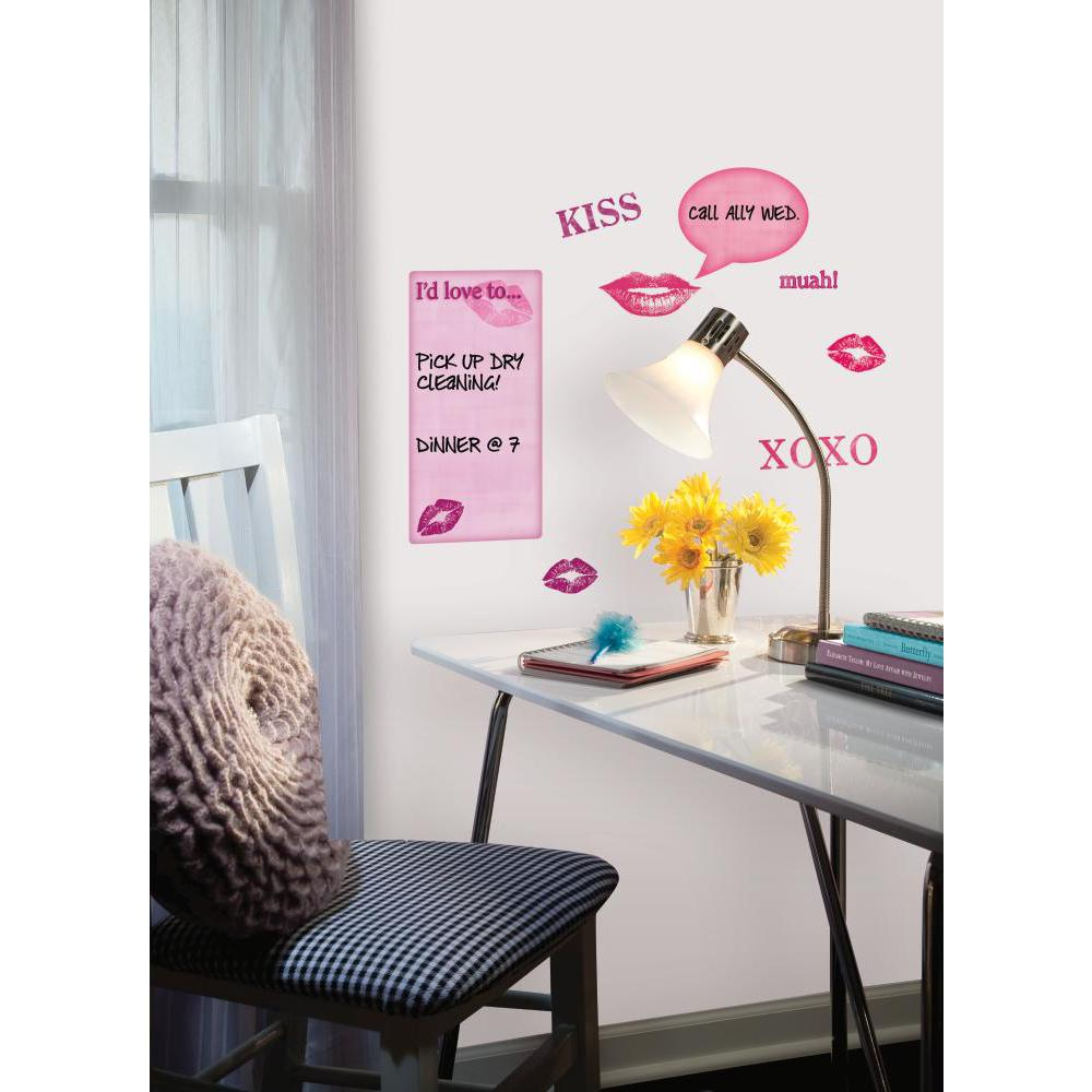 Kisses Dry Erase Peel And Stick Decal