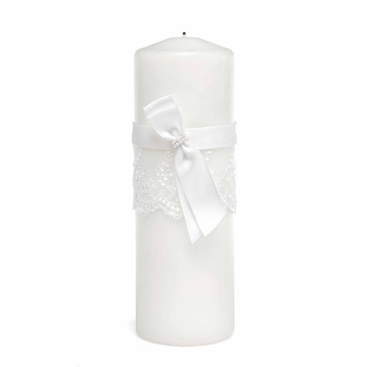 Lace Allure Unity Candle