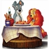 Lady And The Tramp Lifesized Standup